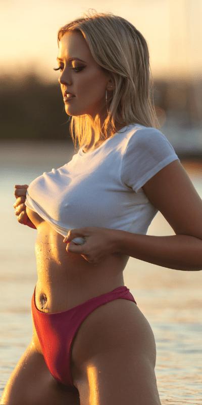 Topless waitress Brisbane
