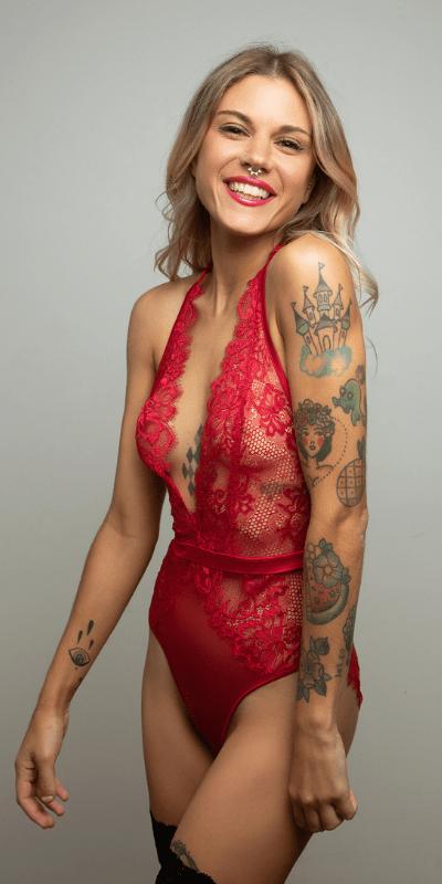 Eva red profile pic